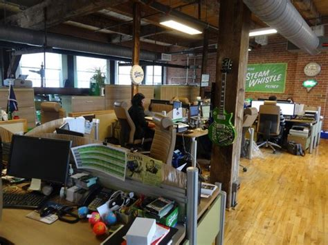 steam office steam whistle offices picture of steam whistle brewery toronto tripadvisor