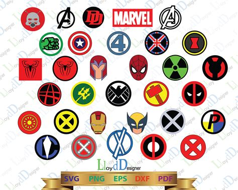 Marvel Superhero Logo Svg Marvel Svg Superheroes Svg Super