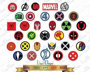 Marvel superhero logo SVG marvel svg Superheroes svg super ...