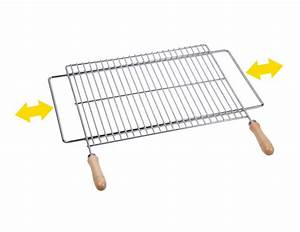 Grille Barbecue 60 X 40 : grille de barbecue 60x40 cm inox support extensible tom ~ Dailycaller-alerts.com Idées de Décoration