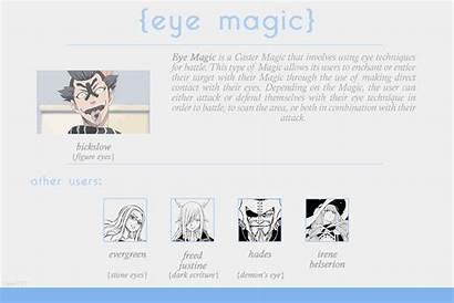 Magic Types Fairy Tail