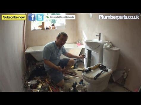 fit  vanity unit basin  sink plumbing tips