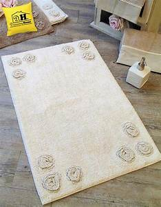 tappeto bagno shabby chic 12 rose angelica home country With tapis shabby chic