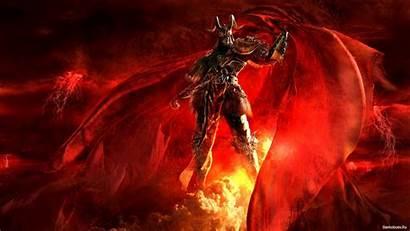 Demon Female Fire Wallpapersafari Forwallpapercom