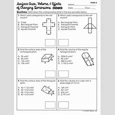 Surface Area & Volume Of Prisms Unit  Mrs Newell's Math