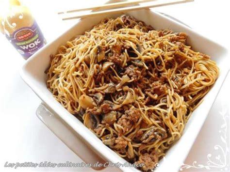 cuisiner les nouilles chinoises recettes de nouilles chinoises