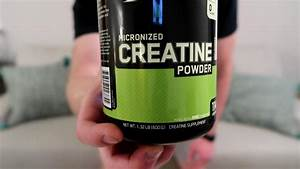 Optimum Nutrition Micronized Creatine Monohydrate Review  Taste Test