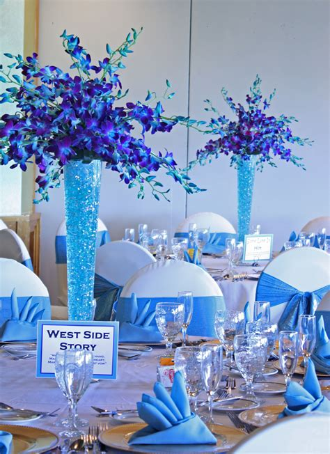 turquoise blue purple perfect together weddings