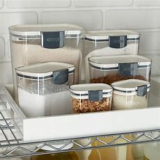 Prokeeper Baker's Storage Set Of 6  The Container Store