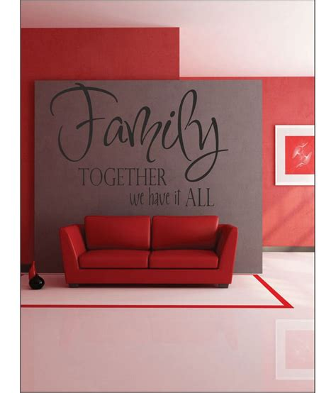 wall1ders family white stickers large buy wall1ders