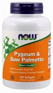 Now Foods Pygeum  U0026 Saw Palmetto