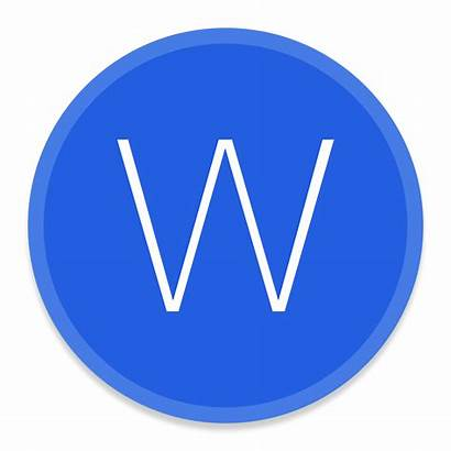 Icon Microsoft Word Office Button Icons Apps