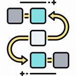 Flowchart Icon Task Analysis Icons Research Data
