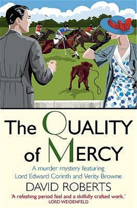 The Quality Of Mercy (lord Edward Corinth And Verity