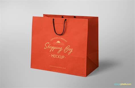We made a list of free, stunning looking and high quality bag mockups for your designs. Free Shopping Bag Mockup | ZippyPixels