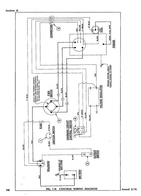 Golf Cart Wiring Diagram Gas Engine Gallery