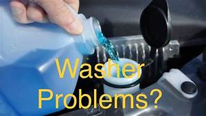 2015 Ford Taurus Windshield Washer Not Working   How To