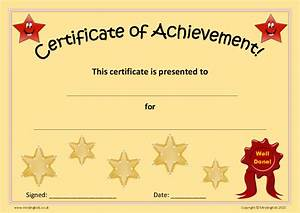 Star Chart Print Out Certificates Rewards Pack Mindingkids