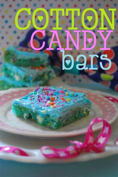 cotton candy bars  domestic rebel
