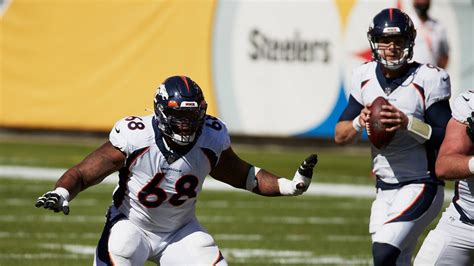Denver Broncos place RT Elijah Wilkinson on injured ...