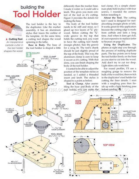 diy wood lathe duplicator woodarchivist