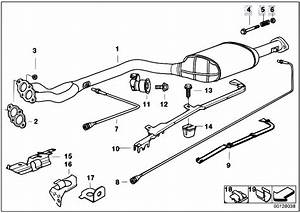Original Parts For E36 318is M44 Sedan    Exhaust System