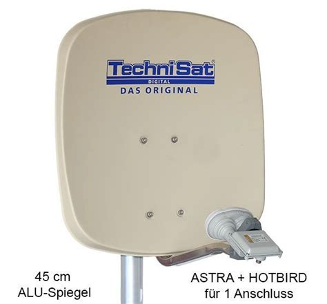 satellitenschüssel einstellen astra technisat digidish 45b mbs sat anlage komplett astra hotbird