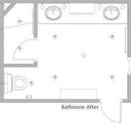 bathroom design floor plans bathroom floor plan after