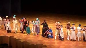 Disney's Aladdin - A Musical Spectacular Cast Exit - YouTube
