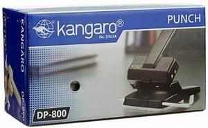 Manual Paper Punch Kangaro Dp