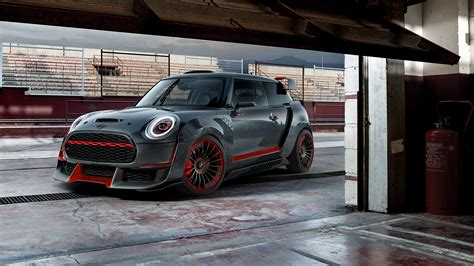 Mini Cooper Clubman 4k Wallpapers by Mini Cooper Works Gp Concept 2017 Frankfurt Motor