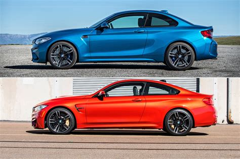 Bmw M240i Vs M2 by Bmw M2 Versus M4 Sibling Rivalry Motor Trend