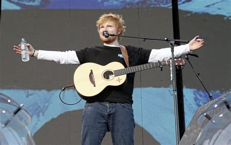 ed sheeran fanshop in pictures ed sheeran wows fans at sold out belfast gig the news