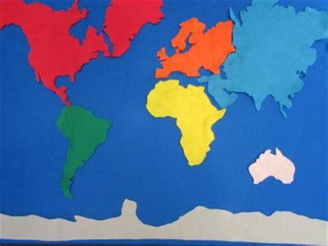 world map felt board fun family crafts