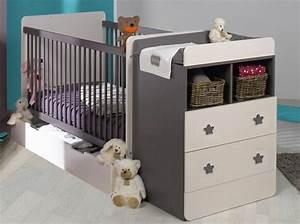 Lit Avec Table à Langer : photo lit bebe avec table a langer ~ Teatrodelosmanantiales.com Idées de Décoration