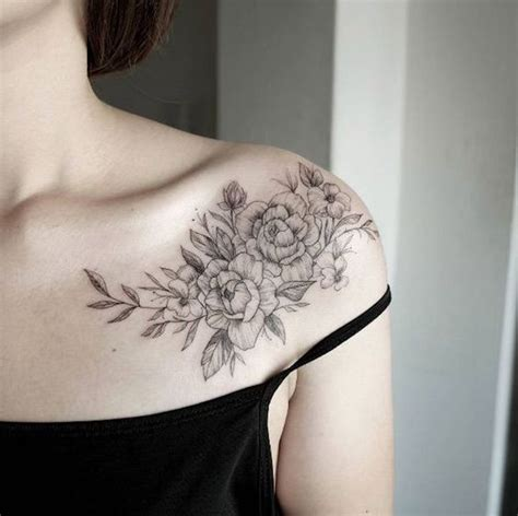 popular shoulder tattoo ideas  women