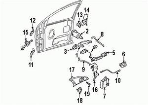 Ford Focus Door Parts Diagram