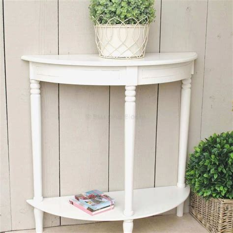 Half Moon Accent Tables Lovely Console Table Small Console. Mirage Hotel Front Desk. Handmade Dining Tables. Fisher Price Desk And Chair. Table Top Tv Stand. Folding Console Table. Bathroom Vanity With Drawers On Left Side. Fold Down Table. Half Barrel Table