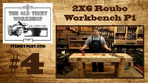 andre roubo workbench  timey woodworking