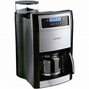 Kaffeeautomaten Mit Mahlwerk : coffee maker petra electric kaffeemaschine mit mahlwerk km ~ Watch28wear.com Haus und Dekorationen