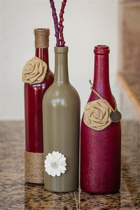35 Easy Diy Wine Bottles Crafts And Ideas
