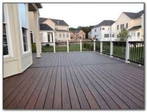dark deck stain colors decks home decorating ideas