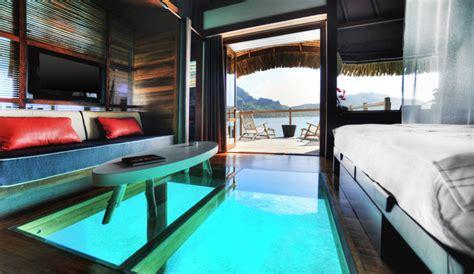 hotel barcelone dans la chambre hôtel le méridien bora bora polynésie française