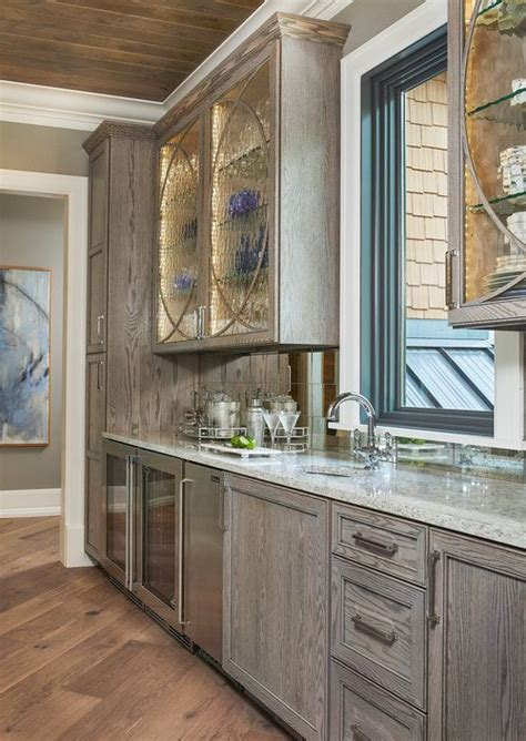 Gray Stained Cabinets by Best 25 Gray Stained Cabinets Ideas On