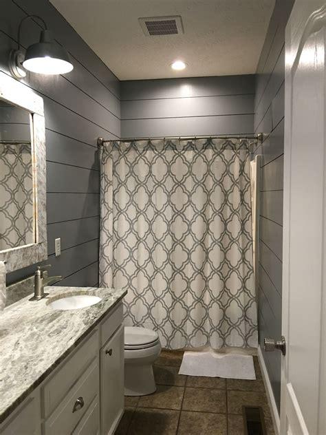 kids bathroom remodel shiplap cut  lowes outdoor