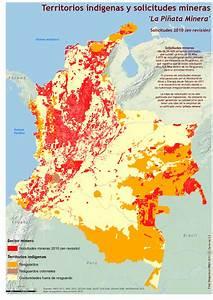 Comunidades Indigenas De Colombia Mapa