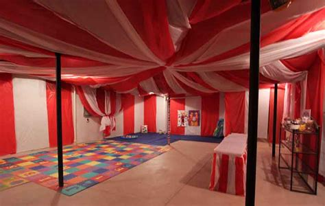 How To Decorate An Unfinished Basement For A Party