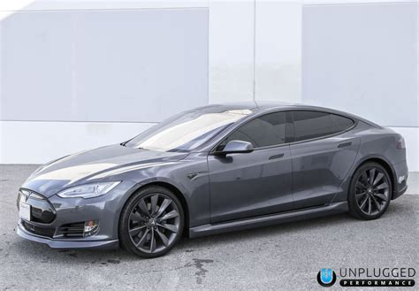 tesla model s colors unplugged performance side skirt set for tesla model s