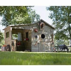 Cabane Bois Leroy Merlin : maisonnette bois hacienda cerland m leroy merlin cabane pour ma l pinterest ~ Melissatoandfro.com Idées de Décoration