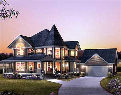 victorian  wrap  porch ha architectural designs house plans